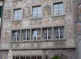 Fenster für historische Gebaeude